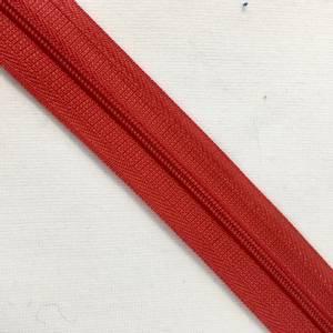 Bilde av glidelås metervare rød