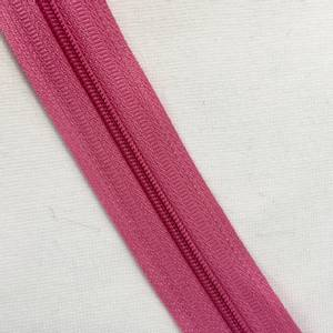 Bilde av glidelås metervare rosa